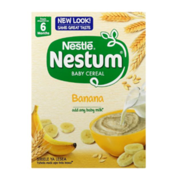 Nestlé Nestum Banana Flavoured Baby Cereal 250g offers at R 26,99
