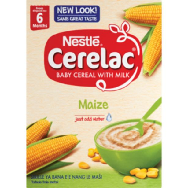 Nestlé Cerelac Maize Baby Cereal 250g offers at R 41,99