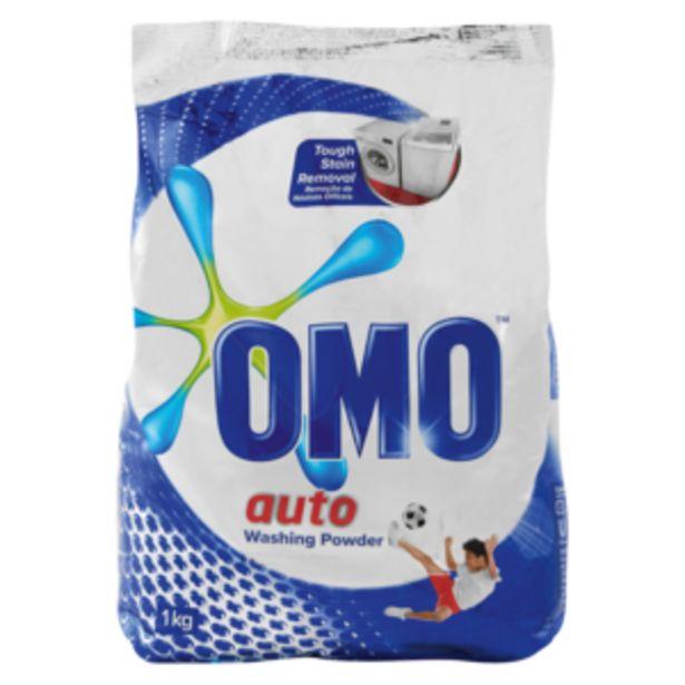 Omo Auto Washing Powder 1kg offers at R 42,99
