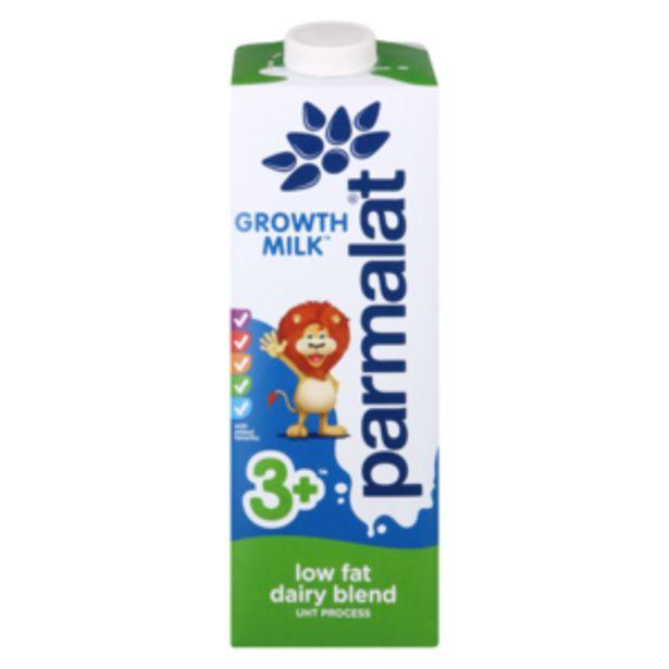 Parmalat Low Fat 3+ Growth Milk 1L offers at R 22,99