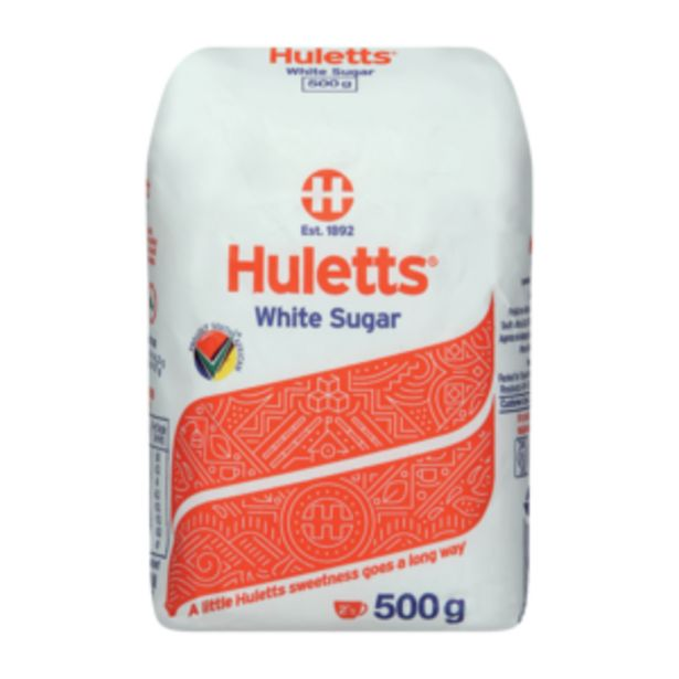 Huletts White Sugar 500g offers at R 13,99
