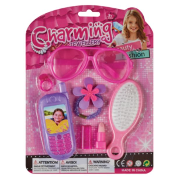 Beauty Set With Charming Phone offers at R 24,99