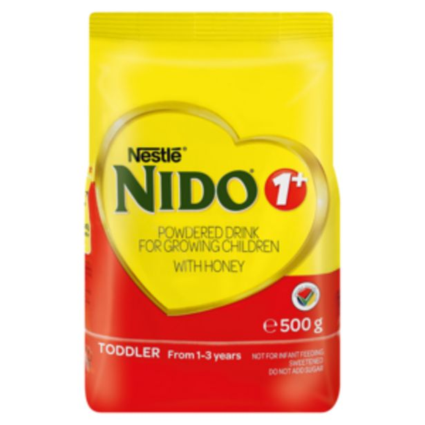 Nestlé Nido No. 1+ Formula Doy Pack 500g offers at R 82,99