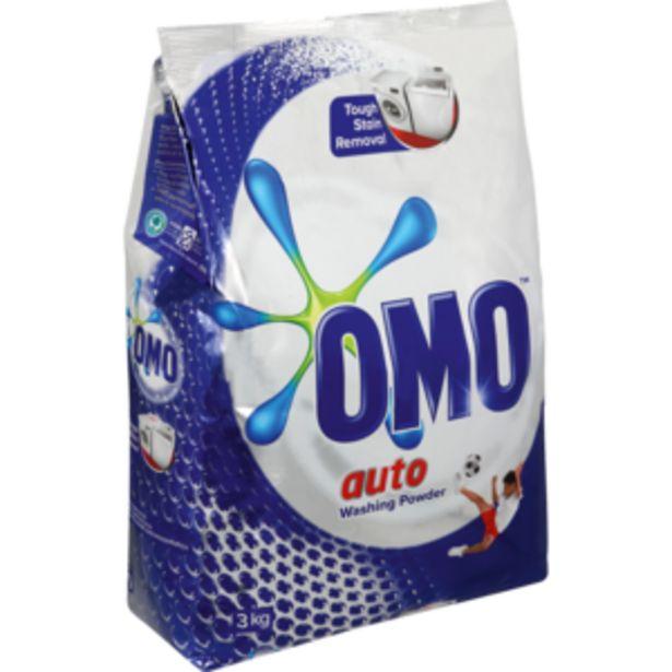 Omo Auto Washing Powder 3kg offers at R 92,99