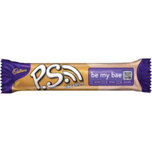 Cadbury P.S. Caramilk Chocolate Bar 48g offers at R 9,99