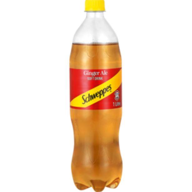 Schweppes Ginger Ale Soft Drink Bottle 1L offers at R 15,99