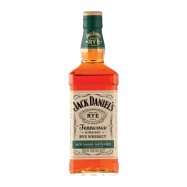 Jack Daniel's Straight Rye Whiskey 750ml offers at R 319,99