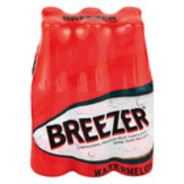 Bacardi Breezer Watermelon 275ml x 6 offers at R 74