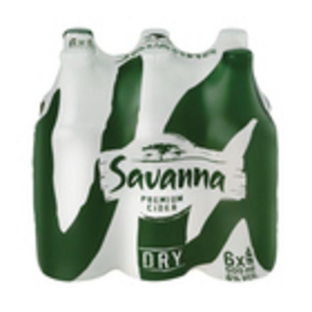 Savanna Dry NRB 500ml x 6 offers at R 104