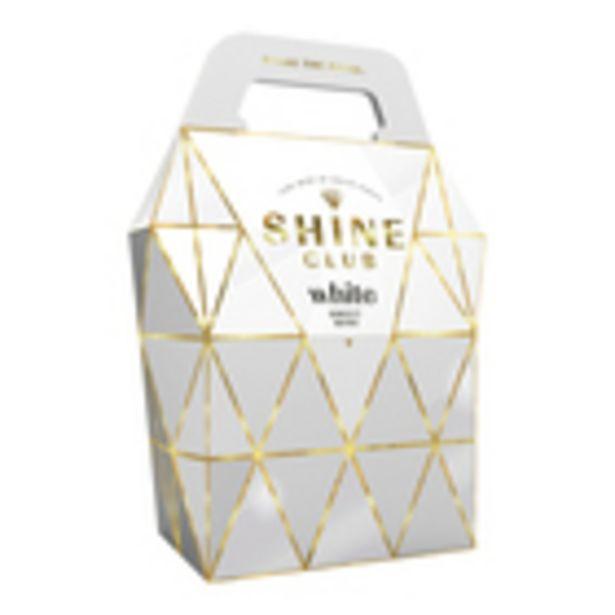 Shine Club Handbag White 3L offers at R 100