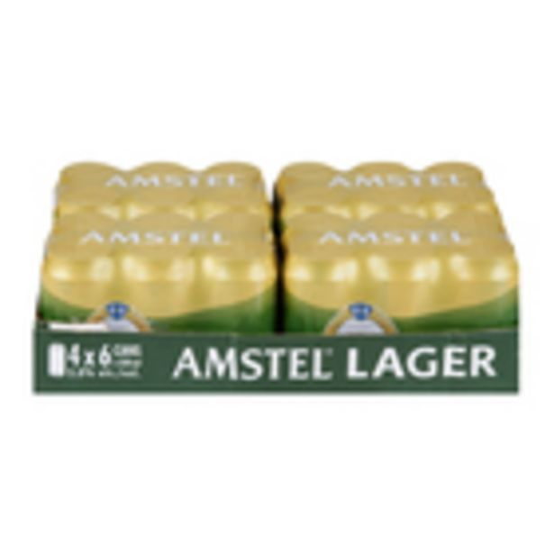 Amstel Lager Cans 330ml x 24 offers at R 249,99