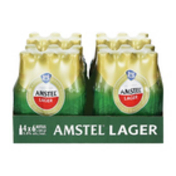 Amstel Lager NRB 330ml x 24 offers at R 249,99