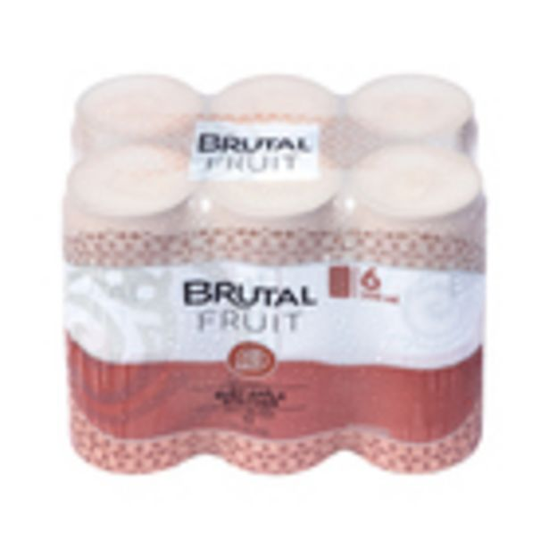 Brutal Fruit Ruby Apple Can 300ml x 6 offers at R 74,99