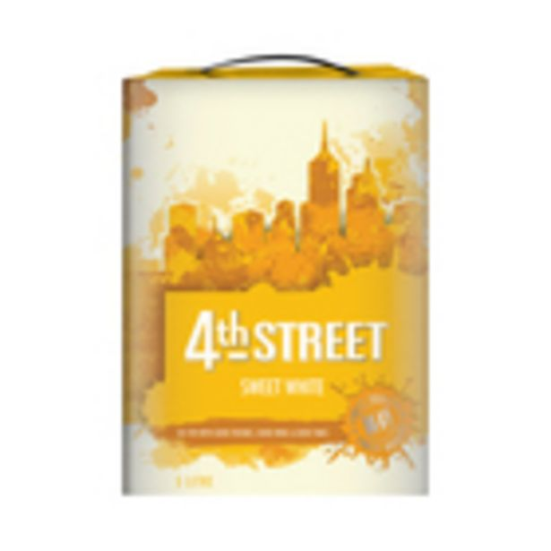 4th Street Sweet White Wine 5l offers at R 160