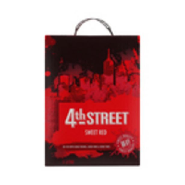 4th Street Sweet Red Wine 5l offers at R 160