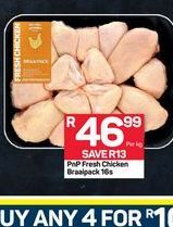 Chicken drumsticks offer at R 46,99