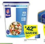 Clover Feta Cheese offer at R 42,99