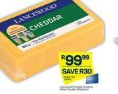 Lancewood Cheddar Cheese  offer at R 99,99