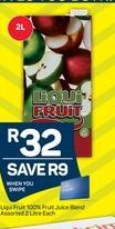 Liqui-Fruit Fruit Juice offer at R 32