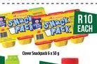 Clover Snack Pack offer at R 10