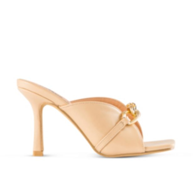 Women's Nude Square Toe Heel offers at R 149,99