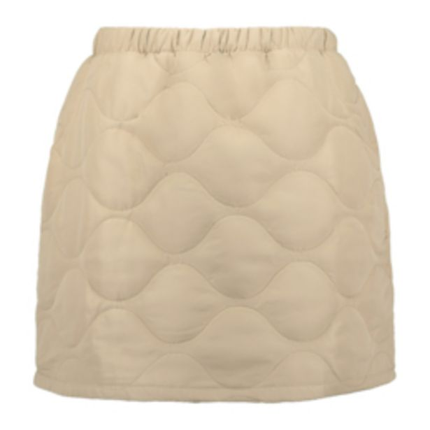 Women's Stone Quilted Mini Skirt offers at R 169,99