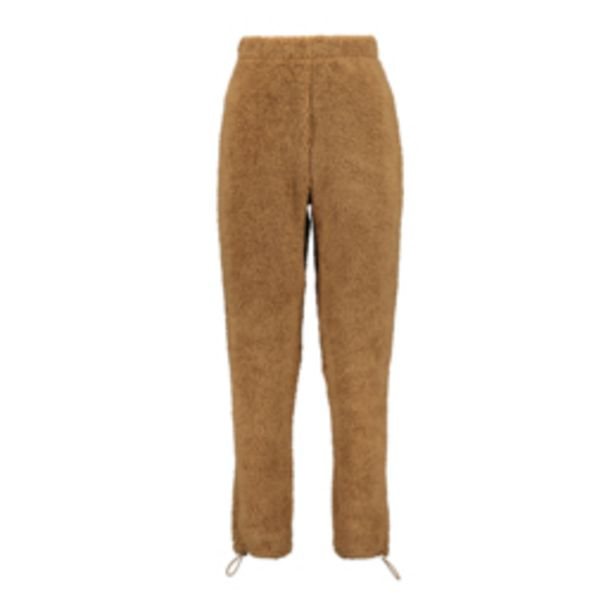 Women's Tobacco Borg Co-ord Jogger offers at R 249,99