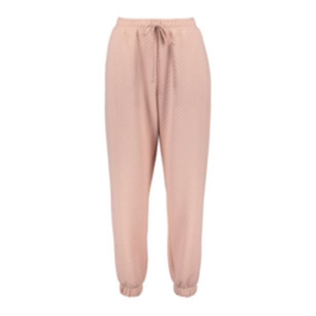 Women's Pink Diamond Quilted Co-ord Jogger offers at R 299,99