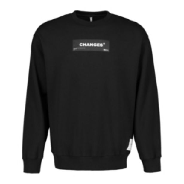 Black Recycled Sweat Top offers at R 249,99