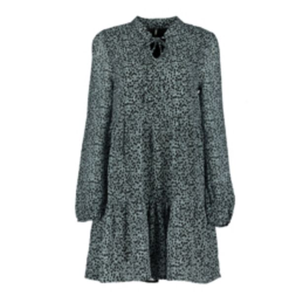 Women's Blue Fit & Flare Floral Dress offers at R 349,99