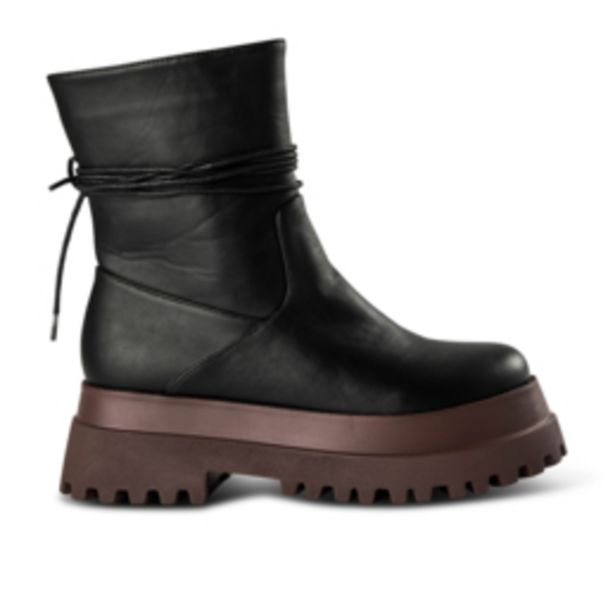 Women's Black & Toffee Two Tone Boot offers at R 499,99