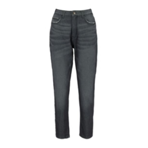 Women's Charcoal Mom Jeans offers at R 299,99