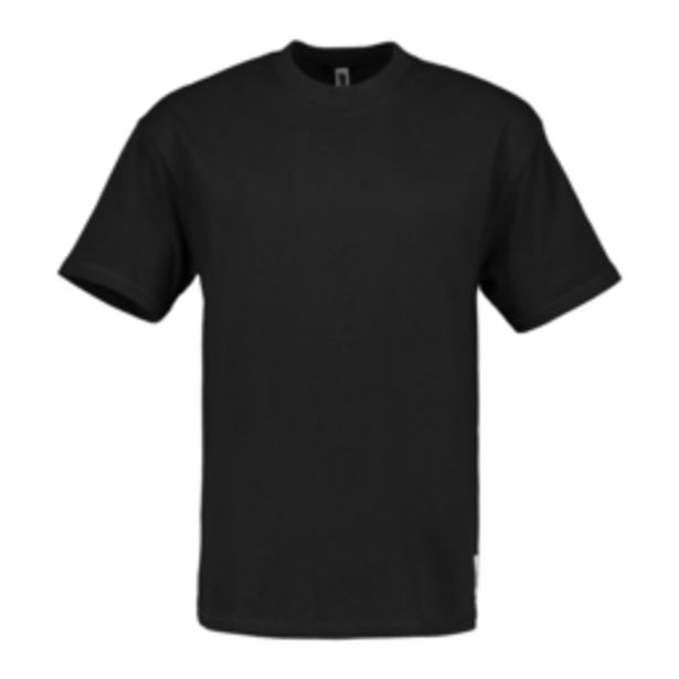 Black Recycled Maxi Fit T-Shirt offers at R 99,99