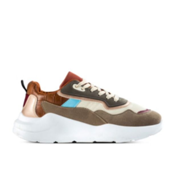 Women's Brown & Blue Chunky Sneaker offers at R 349,99