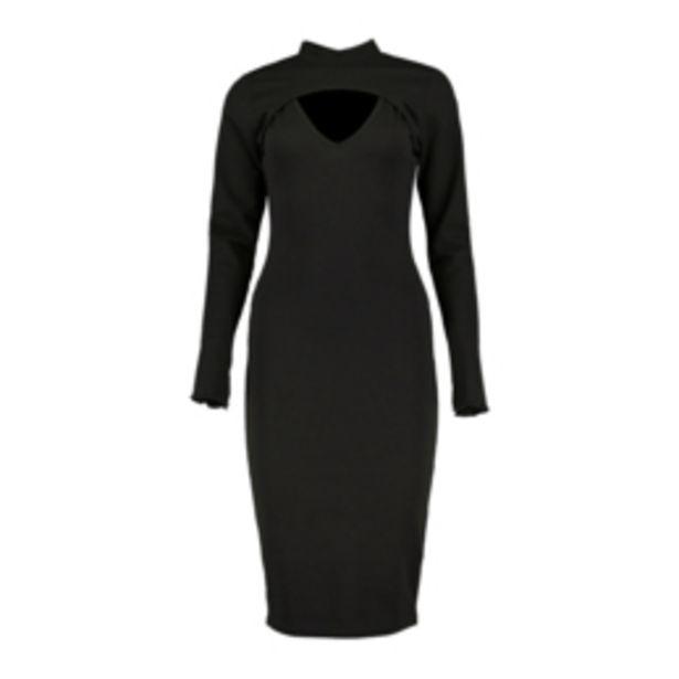 Women's Black Seamless Arm Warmer Dress offers at R 299,99