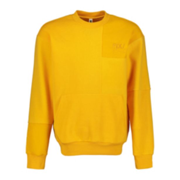 Men's Yellow Patch Work Co-ord Sweat Top offers at R 249,99