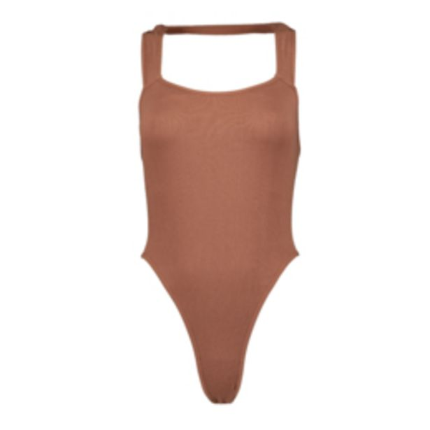 Women's Mink Seamless Halter Bodysuit offers at R 159,99