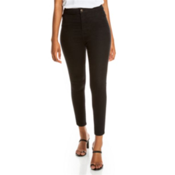 Women's Black High Rise Skinny Jeans offers at R 229,99