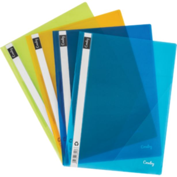 Croxley Assorted A4 Presentation Folders offers at R 19,99