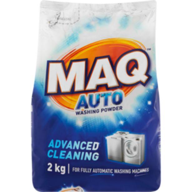 Maq Auto Washing Powder 2kg offers at R 48,99