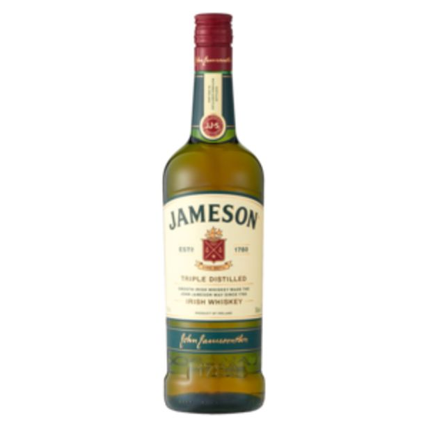 Jameson Irish Whiskey Bottle 750ml offers at R 299,99