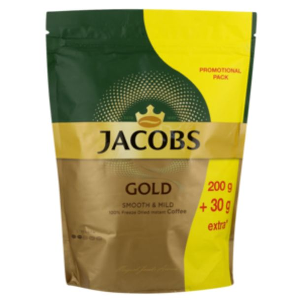 Jacobs Gold Instant Coffee 230g offers at R 87,99