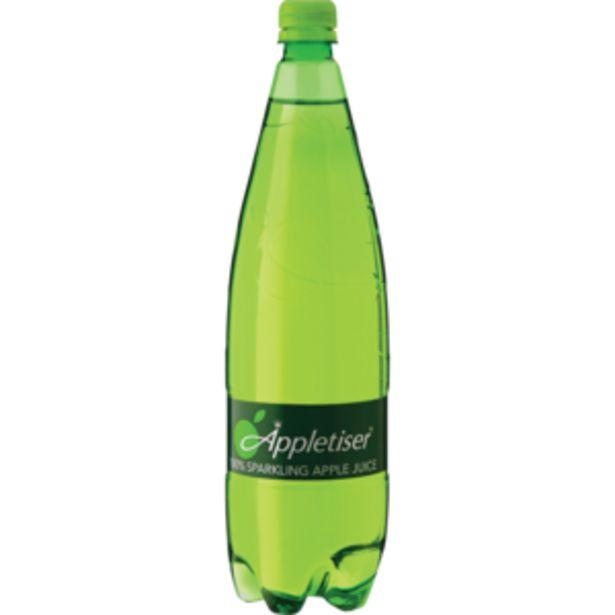 Appletiser Sparkling Apple Juice Bottle 1.25L offers at R 25,99