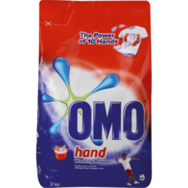 Omo Multiactive Hand Washing Powder 2kg offers at R 57,99