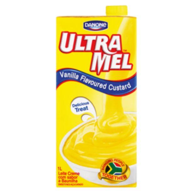 Danone Ultra Mel Vanilla Custard 1L offers at R 29,99