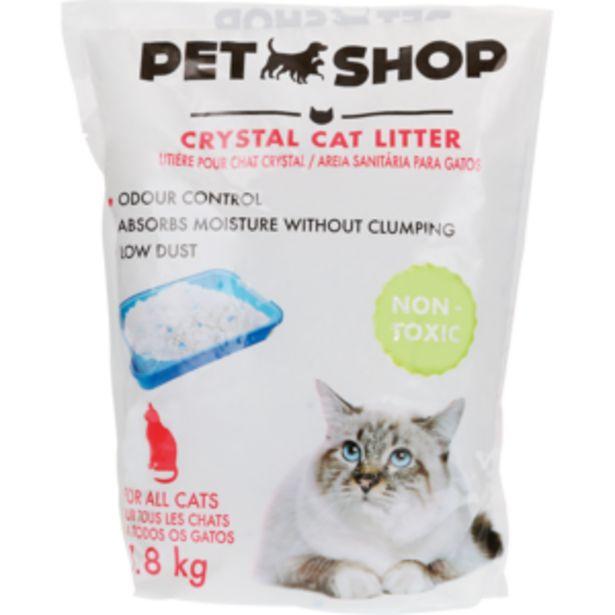 Pet Shop Crystal Cat Litter 1.8kg offers at R 59,99