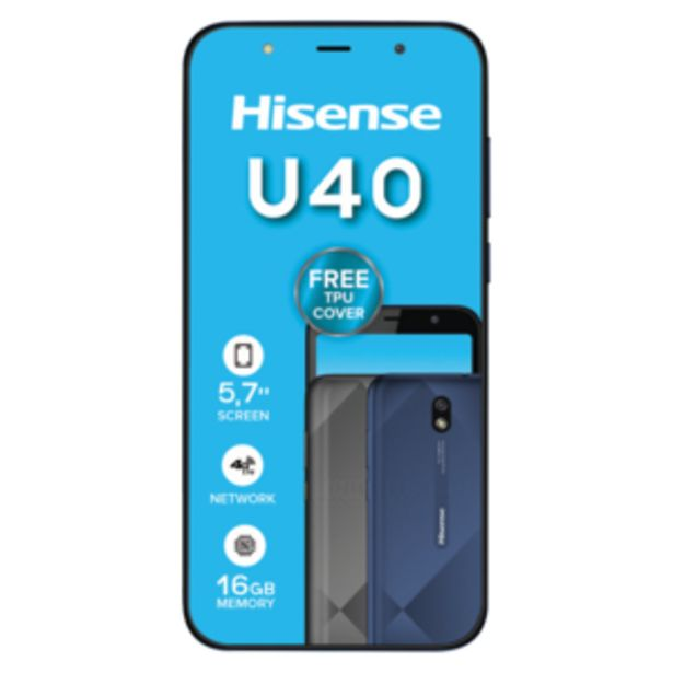Hisense U40 Navy Blue Mobile Phone offers at R 999