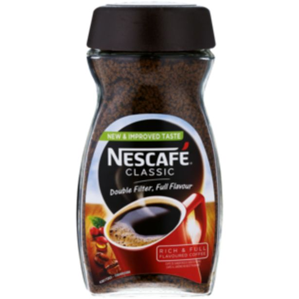 Nescafé Classic Instant Coffee 200g offers at R 85,99