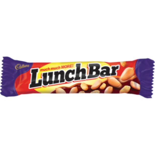 Cadbury Lunch Bar Milk Chocolate Bar 48g offers at R 10,99