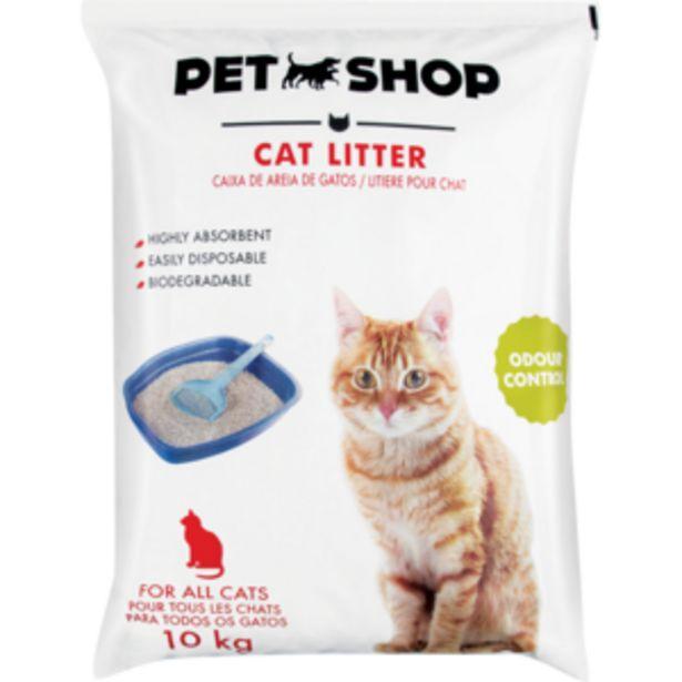 Pet Shop Cat Litter 10kg offers at R 49,99